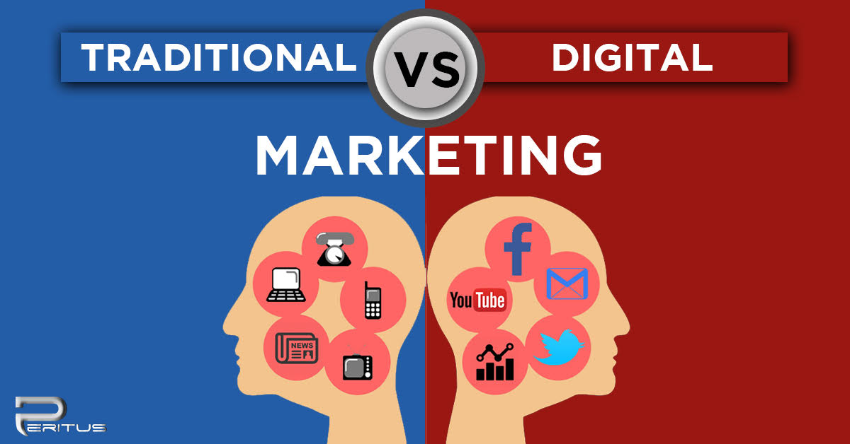 traditional vs internet marketing